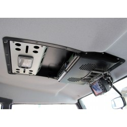 Car audio roof panel for...