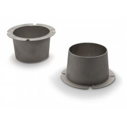 Re-location cone front, Stainless