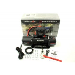 TERRAFIRMA A12000 WINCH synthetic rope wireless & cable remote