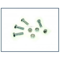 BOLT KIT PROP TO DIFF 4 BOLTS & NUTS