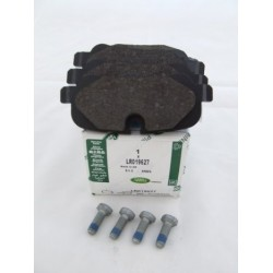 GENUINE REAR PADS LESS CLIPS DISCO 3/4 RR-L322 AND SPORT
